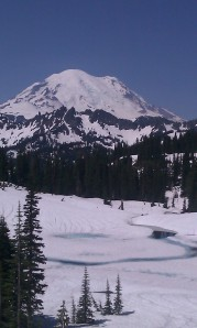 Mount Rainier at Chinook Pass