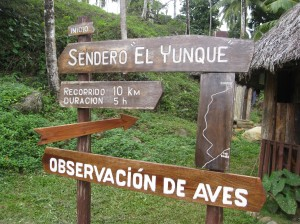 Sign to various locations