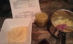 Low fiber breakfast