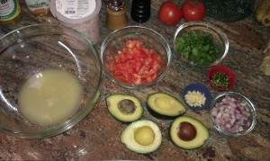 ingredients ready to be mixed