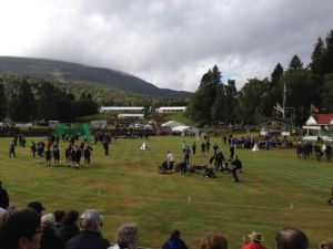 Braemar gathering - highland games.