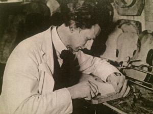 Opa the violin maker.