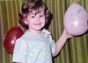 Third birthday of author...