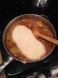 Rice bathed in sofrito