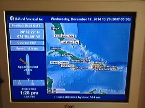 Heading to the Windward Passage
